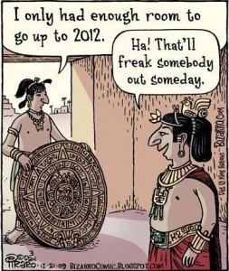 We survived the end of the world. The mayan apocalypse.